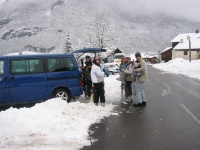 Chalet transport to the GME