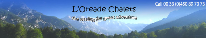Chalet L'Oreade - Idylic Mountain Chalet for Self Catering Rental